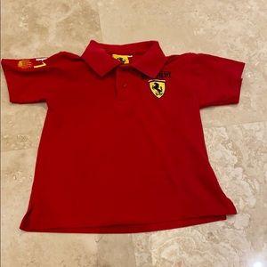Ferrari boys polo shirt